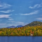 Lake Placid  New York ~ Mirror Lake View thumbnail