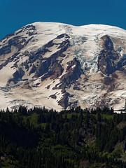 Mount Rainier (wirehead) Tags: em5mk2 14150mm mountain landscape scenery mountrainiernationalpark