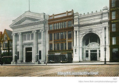 1907 south side state street (albany group archive) Tags: albany ny history postcard 1907 south side state street national commercial bank savings early 1900s old vintage photos picture photo photograph historic historical