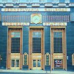 Philadelphia Pennsylvania - Pennsylvania Railroad Suburban Building  - Historic Art Deco thumbnail