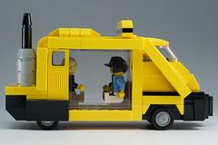 METROKAB_07 (kaba_and_son) Tags: blade runner metro cab lego bladerunner metrocab ブレードランナー レゴ メトロキャブ タクシー