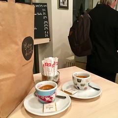 Feierabendespresso (bornschein) Tags: man love night indoor consumption espresso cup stuttgart edgar