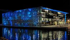 Bleu-Nuit (RS...) Tags: marseille mucem bleunuit midnightblue nuit night nikon1 v2