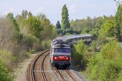 14 avril 2009  BB 67431  Train 3852 Toulouse -> Nantes  Marsas (33) (Anthony Q) Tags: bb67431 14 avril 2009 bb 67431 train 3852 toulouse nantes marsas 33 sncf intercités ic bb67400 ferroviaire qnbt