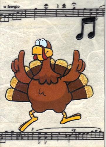 Dancing Turkey atc