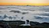 GTC (López Pablo) Tags: telescope sunset landscape cloud yellow white nikon d90 lapalma canaryislands spain