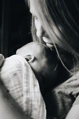 ❤️ (7thound) Tags: child baby infant enfant girl mom woman motherhood comfort caring mother bokeh newborn family