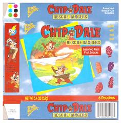 1992 Fruit Parade Chip 'N Dale Rescue Rangers Fruit Snacks Box (gregg_koenig) Tags: 1992 fruit parade chip n dale rescue rangers snacks box 1990s 90s vintage old disney