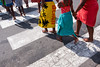 Camps Bay Beach Crossing (BrianEden) Tags: za campsbay fujifilm kids xpro2 towels beach road travelphotography travel crossing streetphotography fuji streetphotographer capetown summer barefeet southafrica westerncape travelphotographer