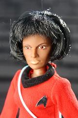 Star Trek - Lt. Uhura ( Mego 1974 ) (Donald Deveau) Tags: mego startrek sciencefiction actionfigure ltuhura toys toyphotography vintagetoy doll tvshow 1960stv