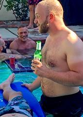 IMG_6466 (danimaniacs) Tags: shirtless man guy hot sexy hunk beard scruff swimsuit shorts trunks swimmingpool