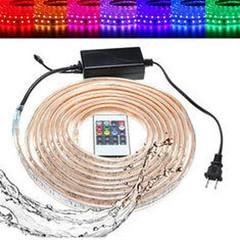 10/15M SMD5050 LED RGB Flexible Rope Outdoor Waterproof Strip Light + Plug + Remote Control AC110V (1124145) #Banggood (SuperDeals.BG) Tags: superdeals banggood lights lighting 1015m smd5050 led rgb flexible rope outdoor waterproof strip light plug remote control ac110v 1124145