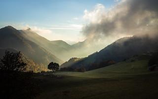 Autumn light in Vercors