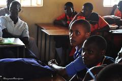 Young Obama (Alwaysawei) Tags: travel hitchhiking adventure obama africa uganda classroom student youth