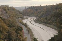 The Avon from the Goat Gully (knautia) Tags: goatgully clifton downs bristol england uk november 2017 avon river riveravon avongorge