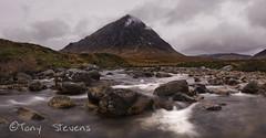 Buachaille Etive Mor (snotty7) Tags: buachailleetivemor clouds mountains scotland highlands glencoe water rocks river landscape rivercoupall glenetive