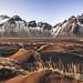 Stokksnes 瓦特納國家公園 (游青峰 Daniel) Tags: stokksnes 瓦特納國家公園 canon6d canon park iceland 冰島 landscape nationalscenicareaadministration dream