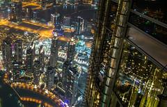 Dubai Burj Khalifa Mirror (dietmarwalcher) Tags: nacht lichter schatten spiegelung reflektionen farben dunkel dunkelheit night lights shadows reflection reflections colors dark darkness dubai burjkhalifa mirror vae emirate emirates multicolored skyscraper water wasser wolkenkratzer window stahl steel city