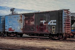 B&M 40' Box Car (douglilly) Tags: bostonmaine boxcar lowell