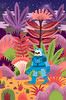 Discovery (Jack Teagle) Tags: deadastronaut adventure pulp spaceman cosmic nature illustration