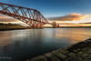 Sunset at the Bridge (Paul S Ewing) Tags: north queensferry firth forth scotland uk forthrailbridge landscape sunset