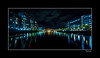 XT2F9312 (Paul Compton (PDphotography)) Tags: city media salford salfordquays manchester water lights night nightscape citysccape dark reflections tripod fuji xt2 long exposure