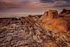 Sleeper (Juan Pablo J.) Tags: color california clouds canon24105mmf4l canon5dmkii coast sunset seascape sky seashore sundown sea searocks