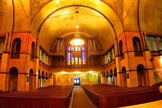Buffalo - New York - The First Presbyterian Church ~ Organ & Pipes - Choir Area