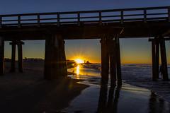 Hueneme BeachSunriseJPG (Z. Abbey) Tags: beach california pacificocean sunrise cloudsstormssunsetssunrises sun sky porthueneme venturacounty canont3i canon dslr ocean southerncalifornia socal outdoors nature marine