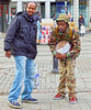 sound soldiers (Mick Steff) Tags: duo urban street male sound drum manchester piccadilly