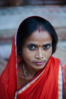 Indian woman, Mathura, India