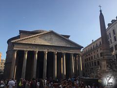 Pantheon (MelArt90) Tags: roma rome italia italy piazzadispagna colosseo pantheon piazzanavona altaredellapatria bandiera sanpietro cittàdelvaticano vaticano chiesa valentinamariani pavia oltrepo