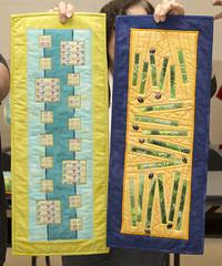 Trunk Show by Jennifer Holden (Brampton Quilters' Guild Inc.) Tags: brampton bramptonquiltersguild ontario canada quilts quilting speaker trunkshow jenniferholden