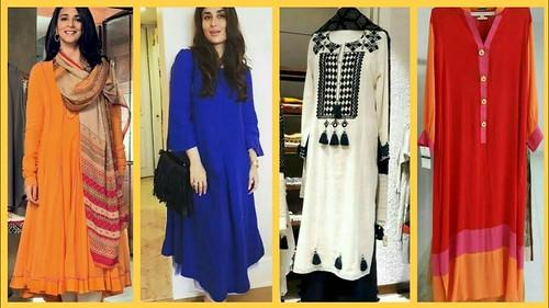 a011e40a7e13 Latest Full Sleeves Kurti Kurta Designs For Girls - Latest Fashion ...