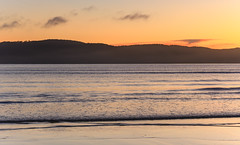 Dawn Seascape (Merrillie) Tags: daybreak uminabeach landscape nature australia mountains nswcentralcoast newsouthwales clouds nsw uminapoint beach scenery centralcoastnsw coastal waterscape centralcoast seascape sunrise coast water sea