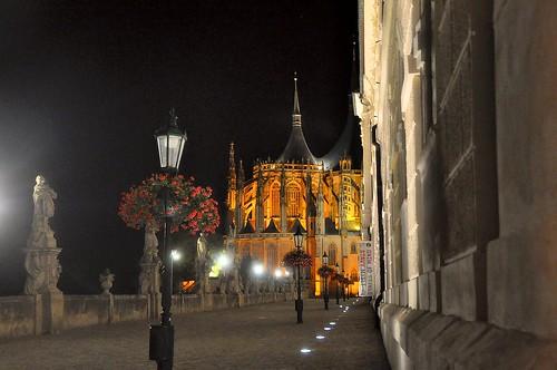 Kutna Hora, Barbarakirche (14.Jhdt.) und Jesuitenkolleg (17.Jhdt.)