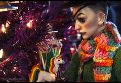 John XMAS-1 (vampyre_angel13) Tags: bjd bjdhybrid bjdmod christmas christmastree holidays ringdoll ringdollk legitbjd
