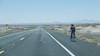 following the asphalt (philippe*) Tags: arizona road roadtrip biker desert landscape