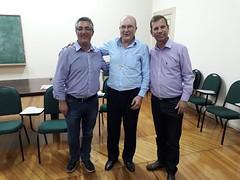 Visita ao Arcebispo José Antonio Peruzzo