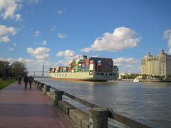 River Walk. Savannah, Georgia. (faraway3000) Tags: savannah georgia riverfront savannahriver