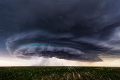 Blue Core (Mike Olbinski Photography) Tags: 20170629 canon1124mmf4 canon5dsr colorado cornfields farms hail lightning rain stormchasing storms supercells twobuttes