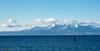 Red (Rourkeor) Tags: ardrossan scotland unitedkingdom gb arran hills snowhills clouds blue red sea water reflections buoy olympus omd em1mk2 mft