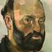 CEZANNE,1886-87 - Autoportrait à la Palette (Zurich) - Detail 25