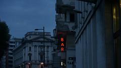 Bar (ScotchBroom) Tags: bar neon neonsign courthouse trieste fvg friuliveneziagiulia evening twilight