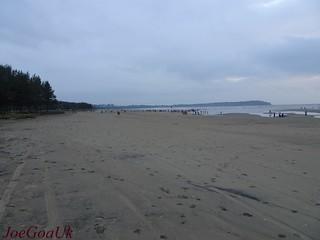 Ockhi cyclone effect felt at Miramar beach?