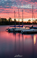 Marina at Dawn (Jae at Wits End) Tags: daybreak firstlight daylight sunup sunrise pier dawn am lake nautical early clouds pond morning boats dock maritime morn nature pool coastal shore sky water light cloudy marine reservoir
