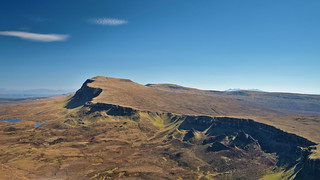 The Trotternish Ridge at Beinn Edra