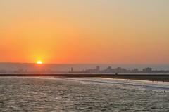FPI_3945 (PCJ600) Tags: california sunset red orange sea ocan beach summer 日落 加州 海 天空 水 海洋 城市 海灣 漸層