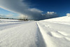 Sky & Snow (YIP2) Tags: landscape snow simple white winterscene lines line empty minimal minimalism sky clouds weather emptiness winter cold nature farm