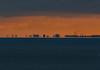 Sunset mirage (frankmh) Tags: night sunset mirage hittarp sweden öresund copenhagen fata morgana sea sky